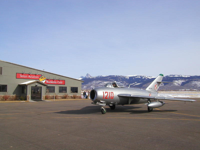 Mikoyan-Gurevich MiG-17 at Teton Aviation Center