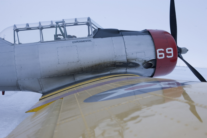 North American T-6 Texan SNJ wing