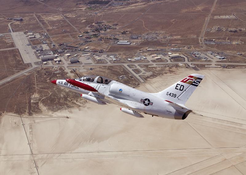 L 39C over desert