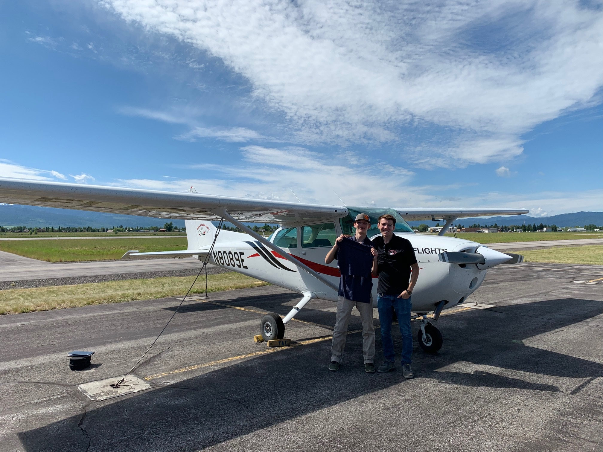 First Solo! - Owen Heaton, winner of the EAA flight scholarship soloed on July 4th 2019!Isaac Slepian CFI