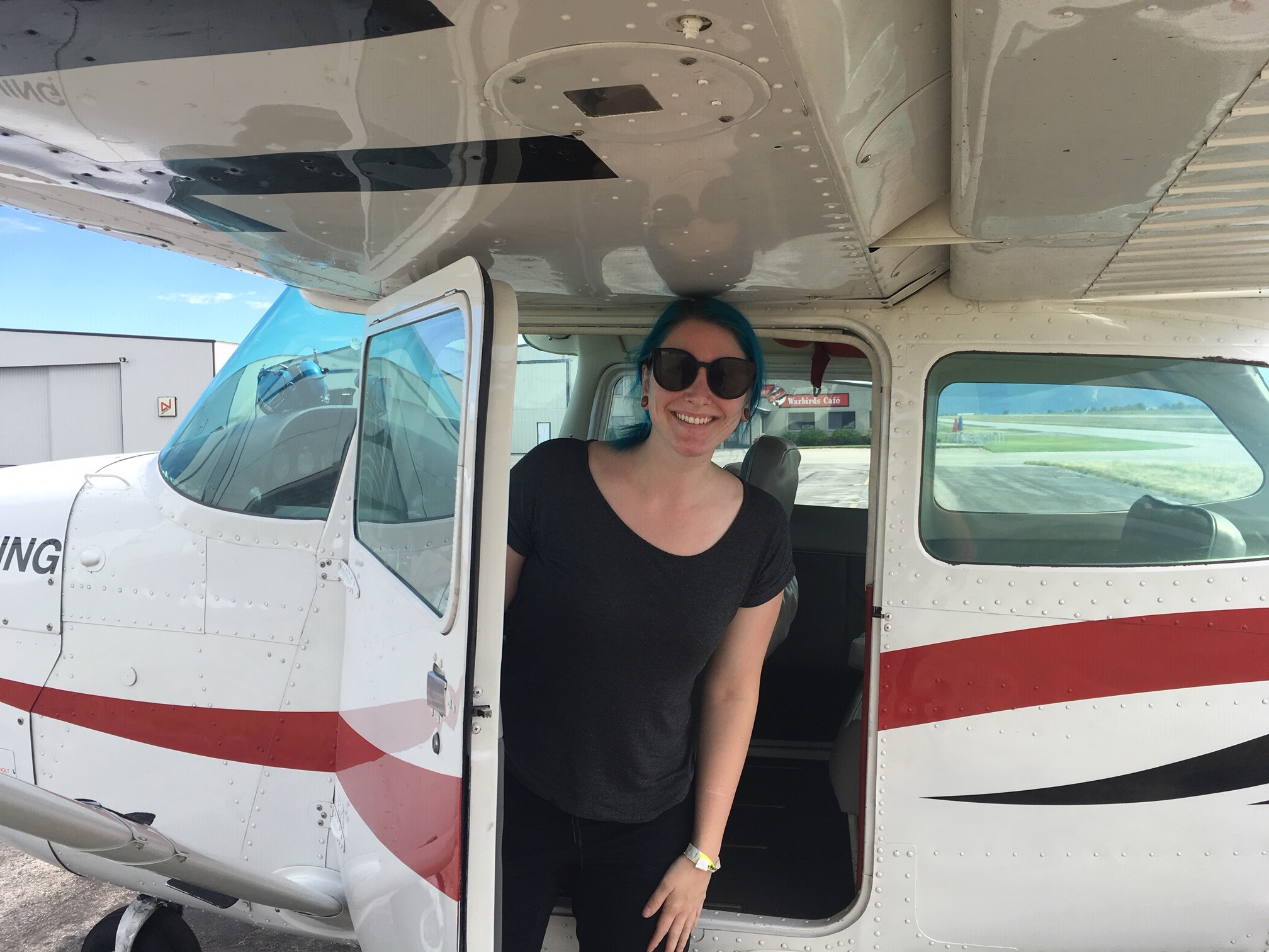 Solo! - Emily's first solo July 15, 2019. Great Job!Colleen Schooley CFI