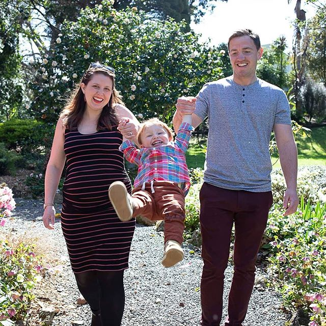 Magic family moments before little number 2 arrives! #familyportraits #whangareiphotographer
