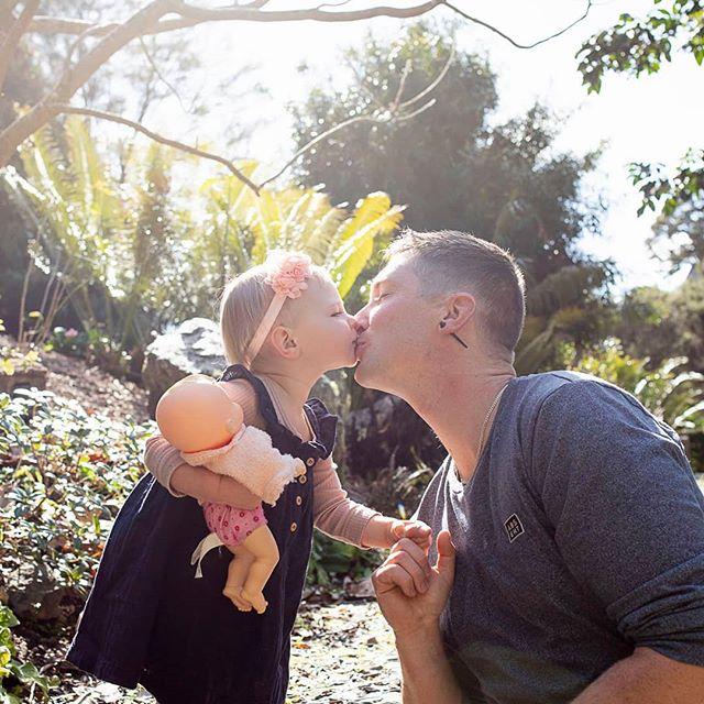 So excited to share this special moment from our Father's day shoot last weekend, what a beautiful family you have @brittyb_xo! #whangareiphotographer #toddlerportraits #daddaughter