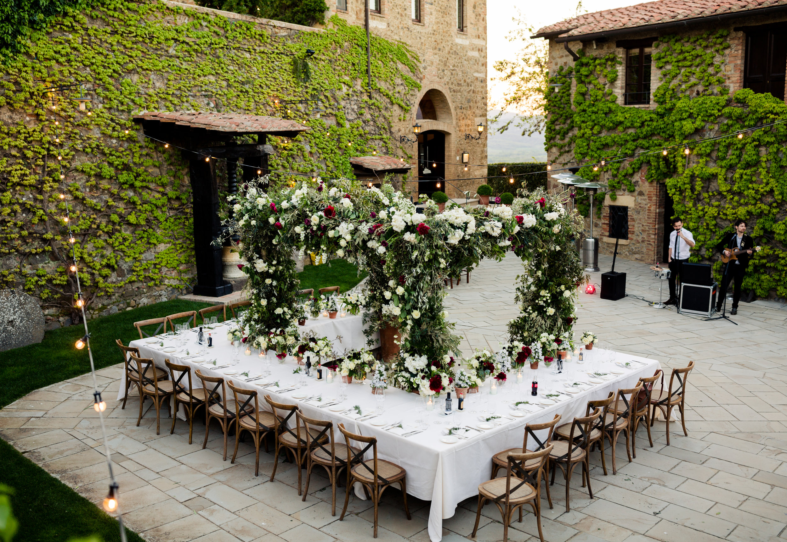 Tuscany Wedding Inspiration by LLG Events
