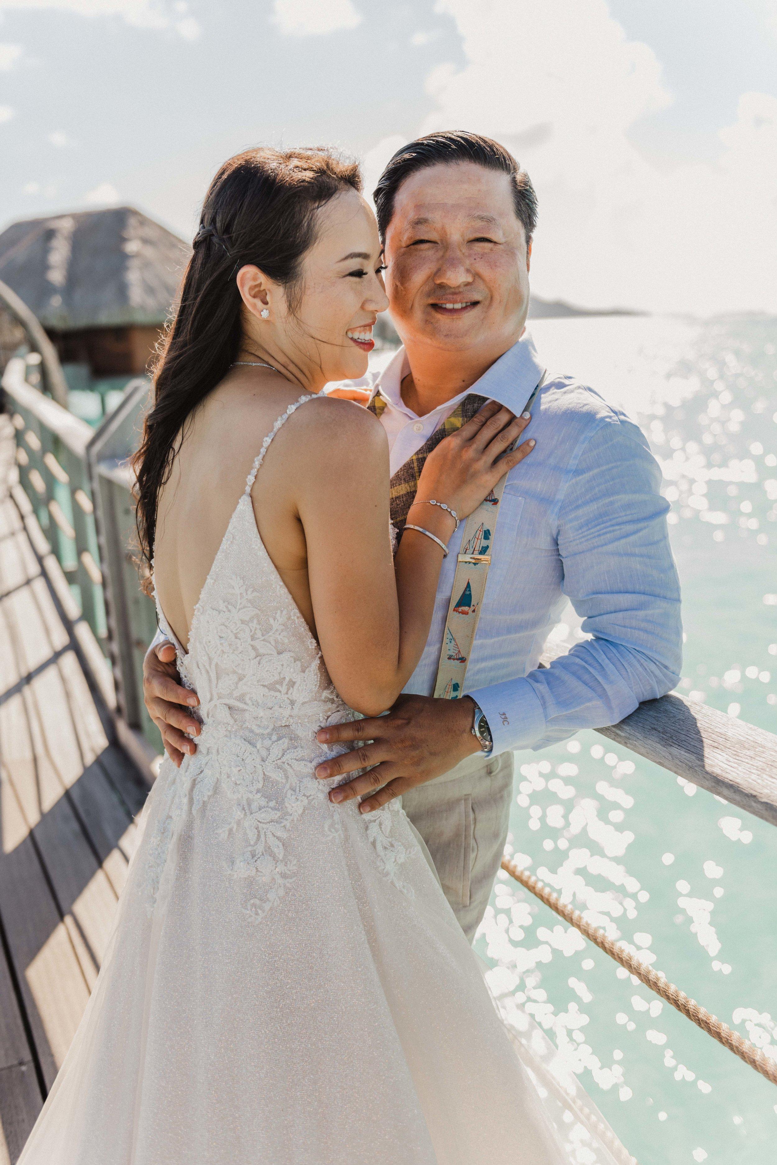 Bora Bora Wedding Photographer