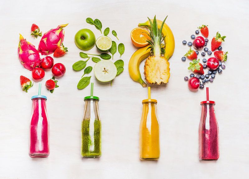 Did you know? - The USDA's Dietary Guidelines for Americans (2015-2020) suggests eating 2-3 servings of whole fruits and 2-3 servings of vegetables per day.