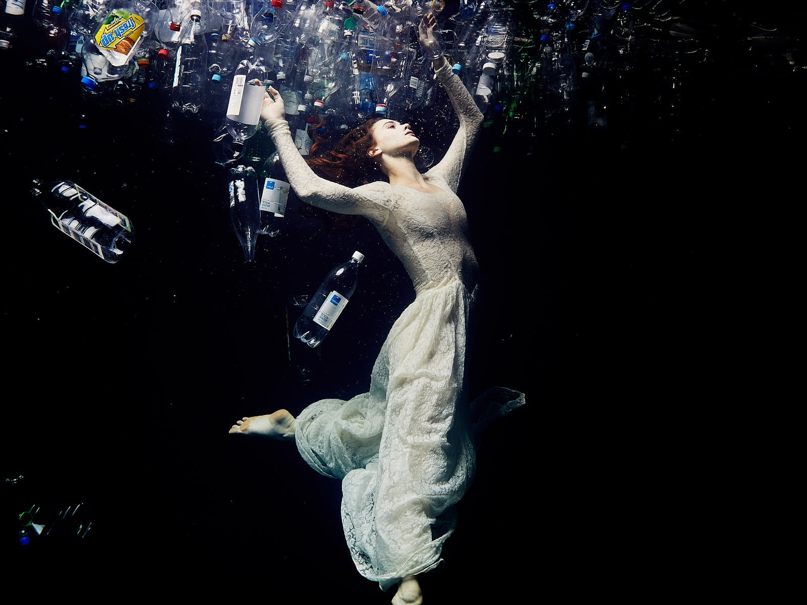 Ocean Plastic Dancers - A series of photos and short films highlight pollution of our ocean.