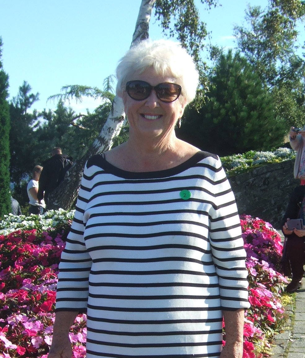 Diane Wiltshire - Occasional Preacher - Member of COGS for over 30 years . Lifelong Christian .Married to Alan with a family of three children and 6 grandchildren .Loves reading , music , gardening and trying to learn Spanish .Wants to be like Mary Berry but not succeeding .