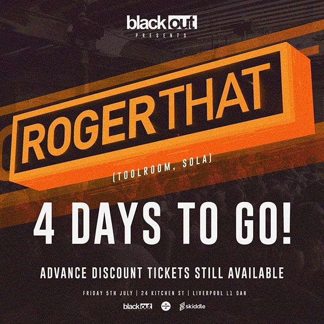 4 Days To Go‼️We still have tickets available on the link in our bio, grab one before they're gone❌  #techno #liverpool