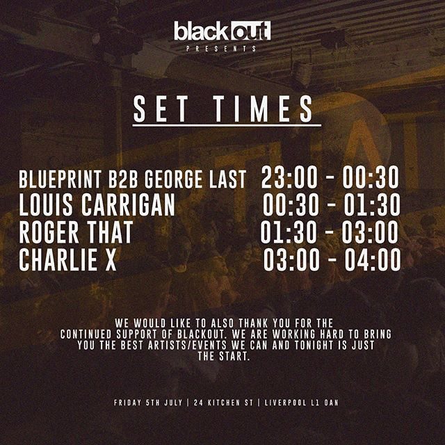 *SET TIMES* Be quick to get your tickets in the link in our bio (£12.50) or pay on the door £15‼️