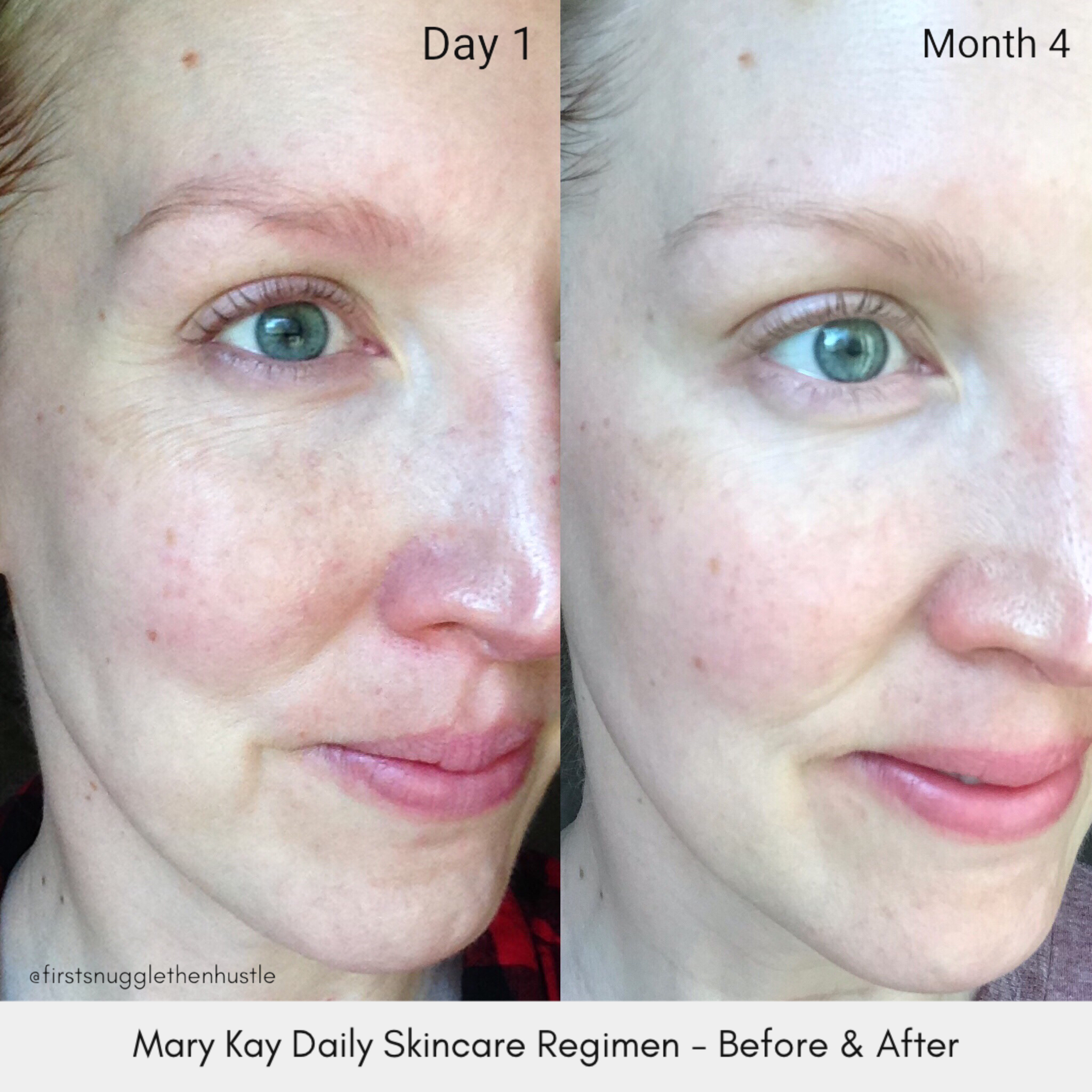 Mary Kay Timewise 3D Skincare Set   used daily for 4 months.