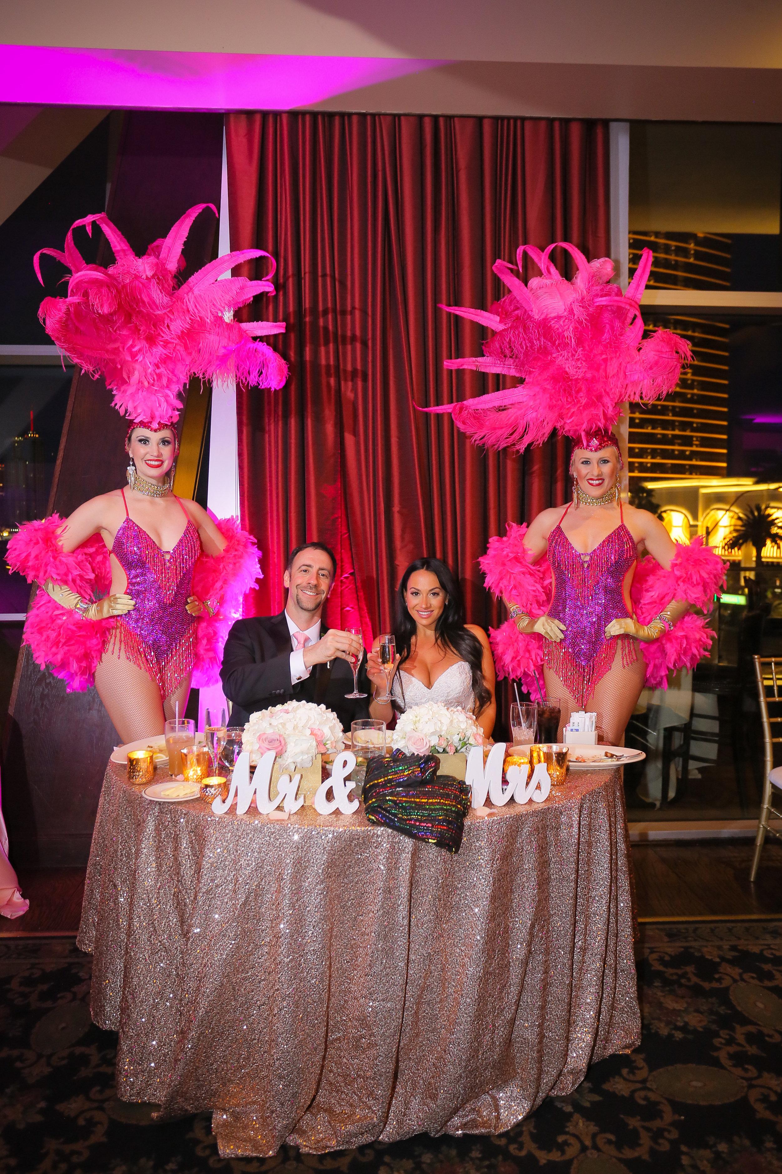 Showgirls & Uplighting