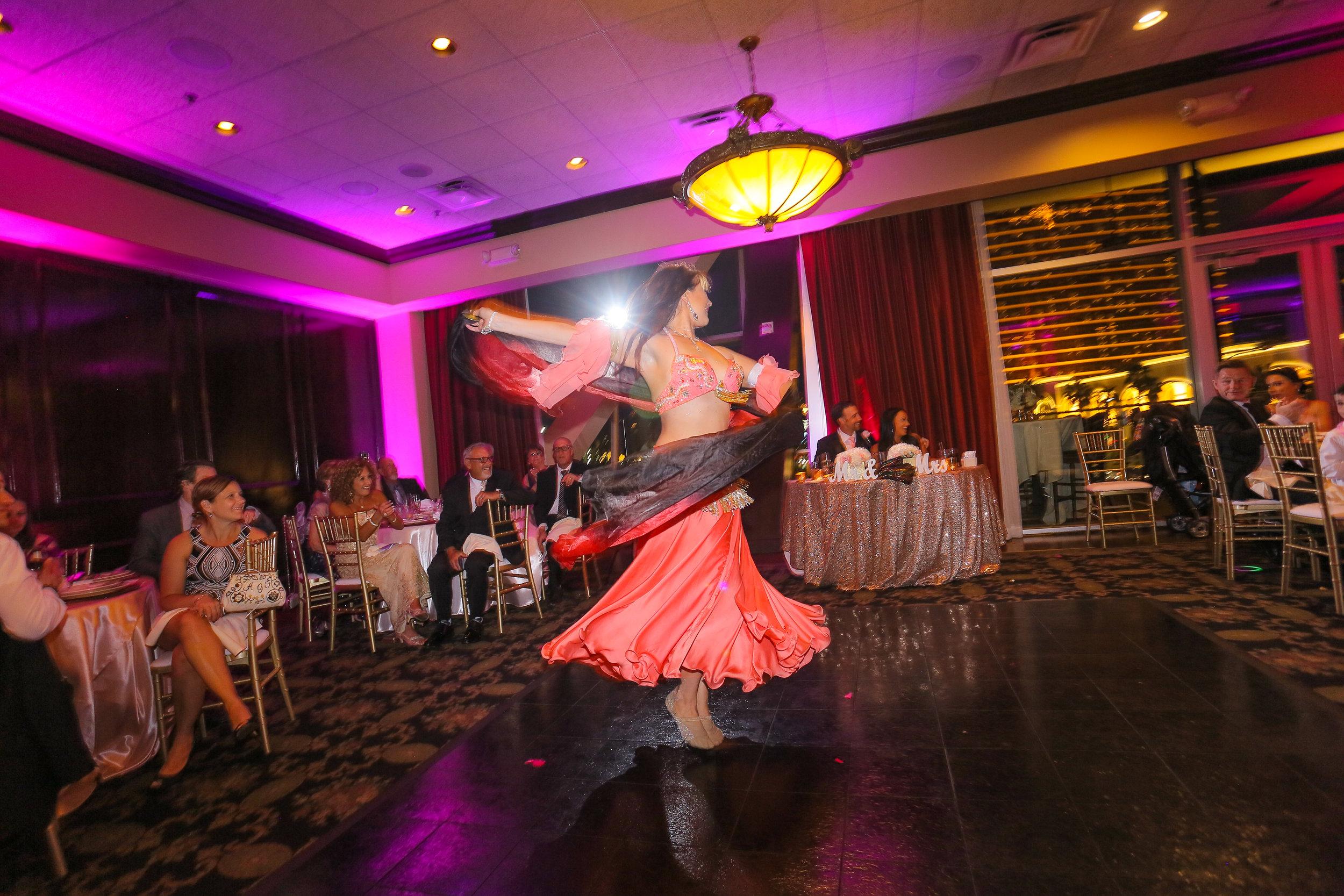 Belly Dancer & Uplighting