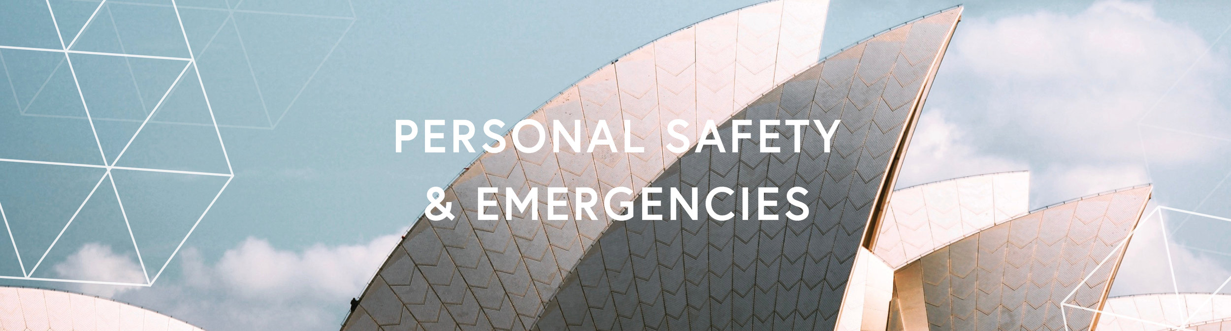 ACBI Personal Safety & Emergencies