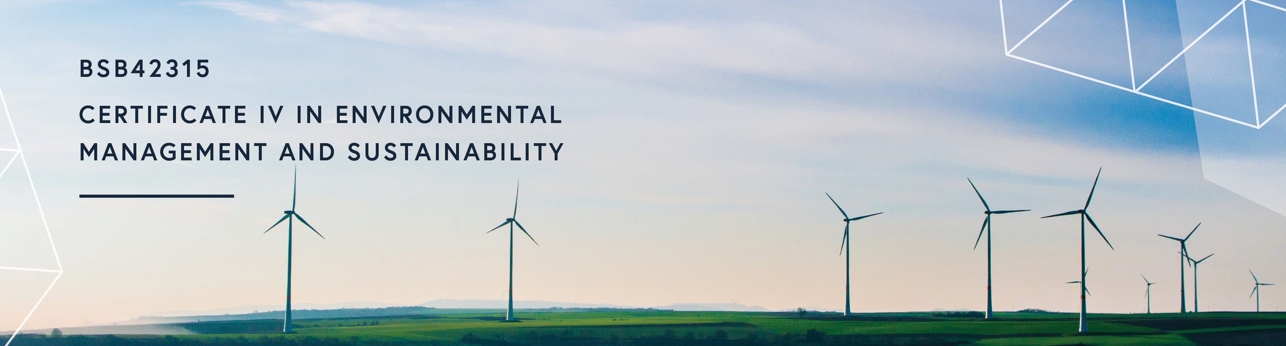 Certificate IV in Environmental Management and Sustainability