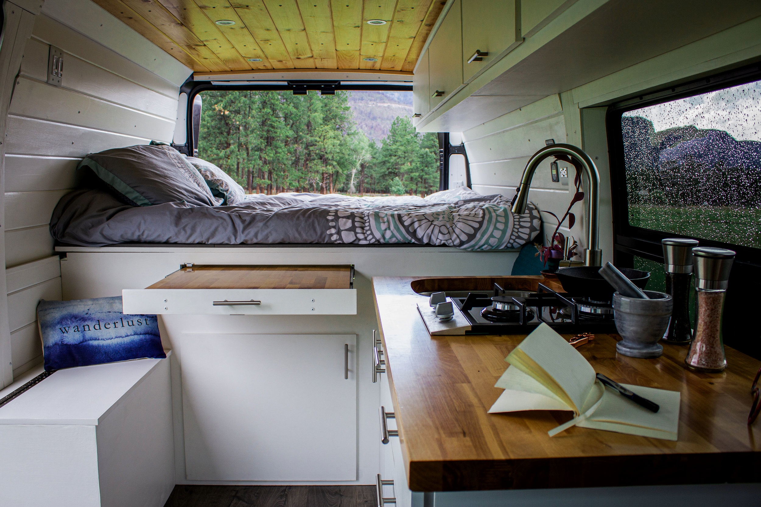 CUSTOMIZE YOUR WANDERFUL VAN! -