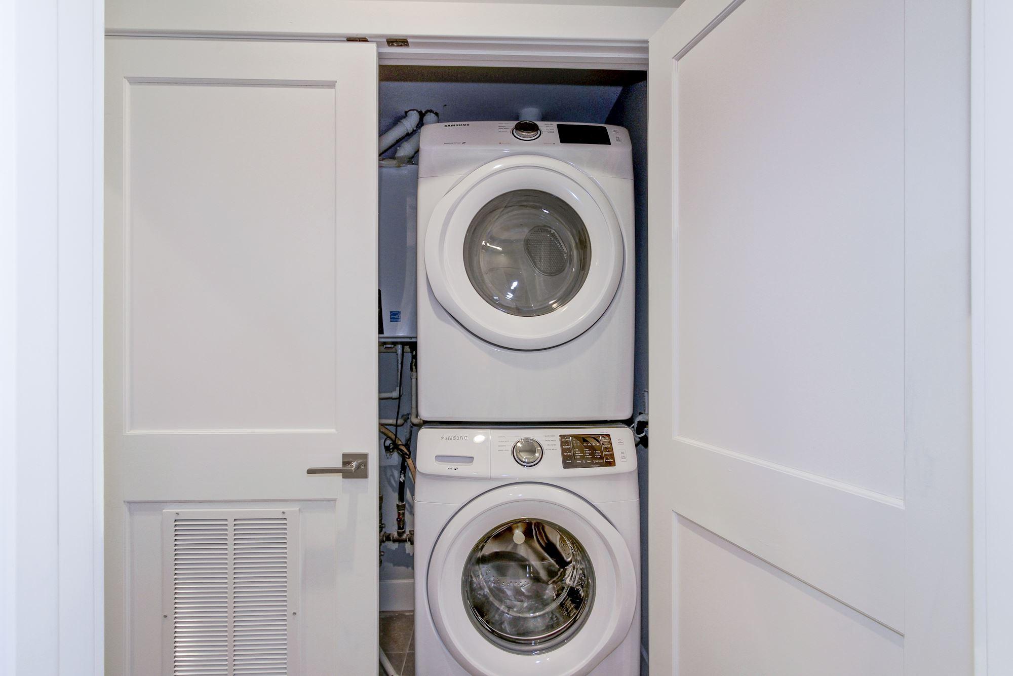 In-Unit Washer & Dryer (Unit #1)