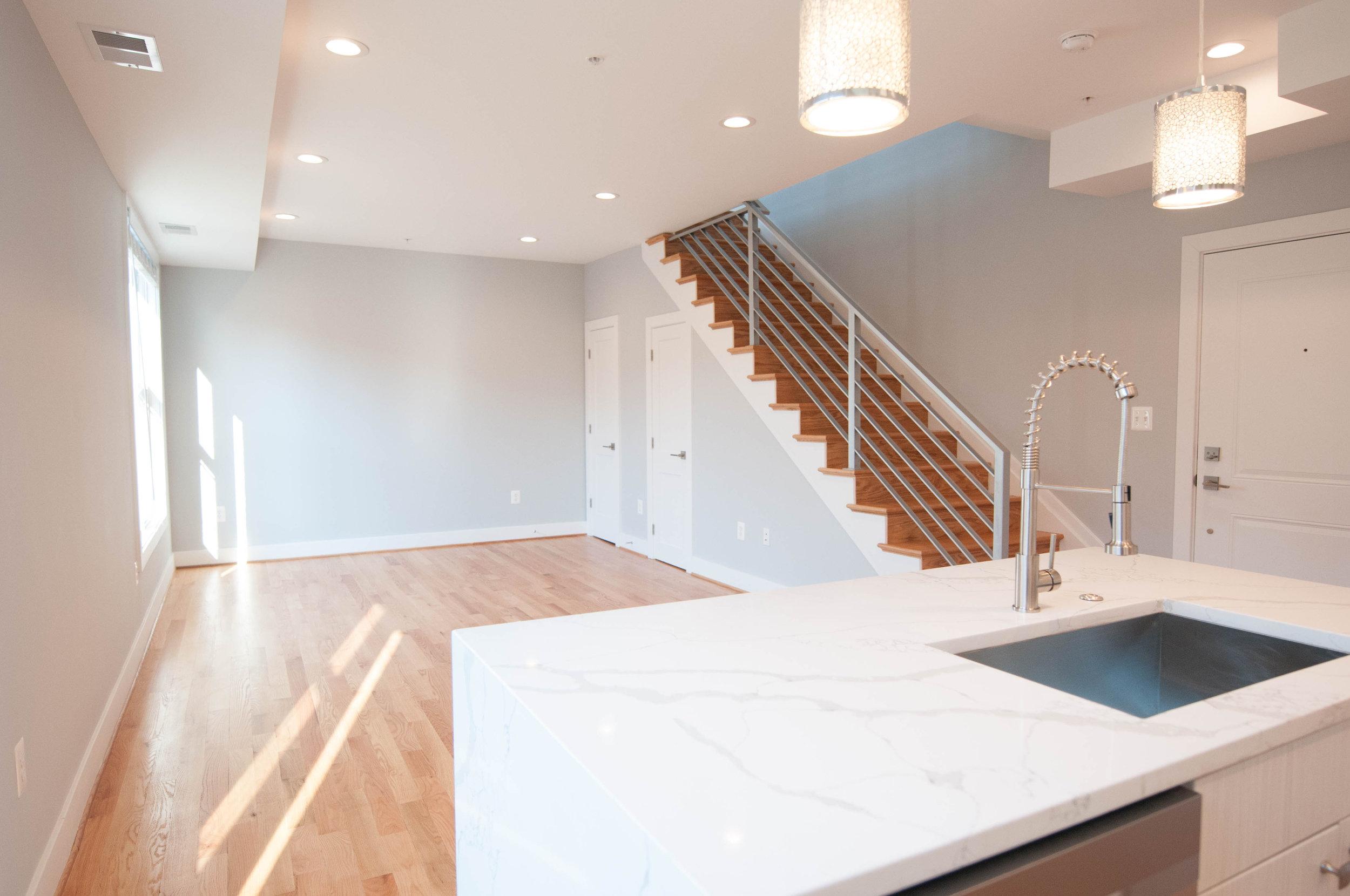 Kitchen + Living Room (Unit #23)