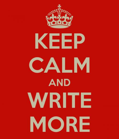 Keep Calm and Write More.png