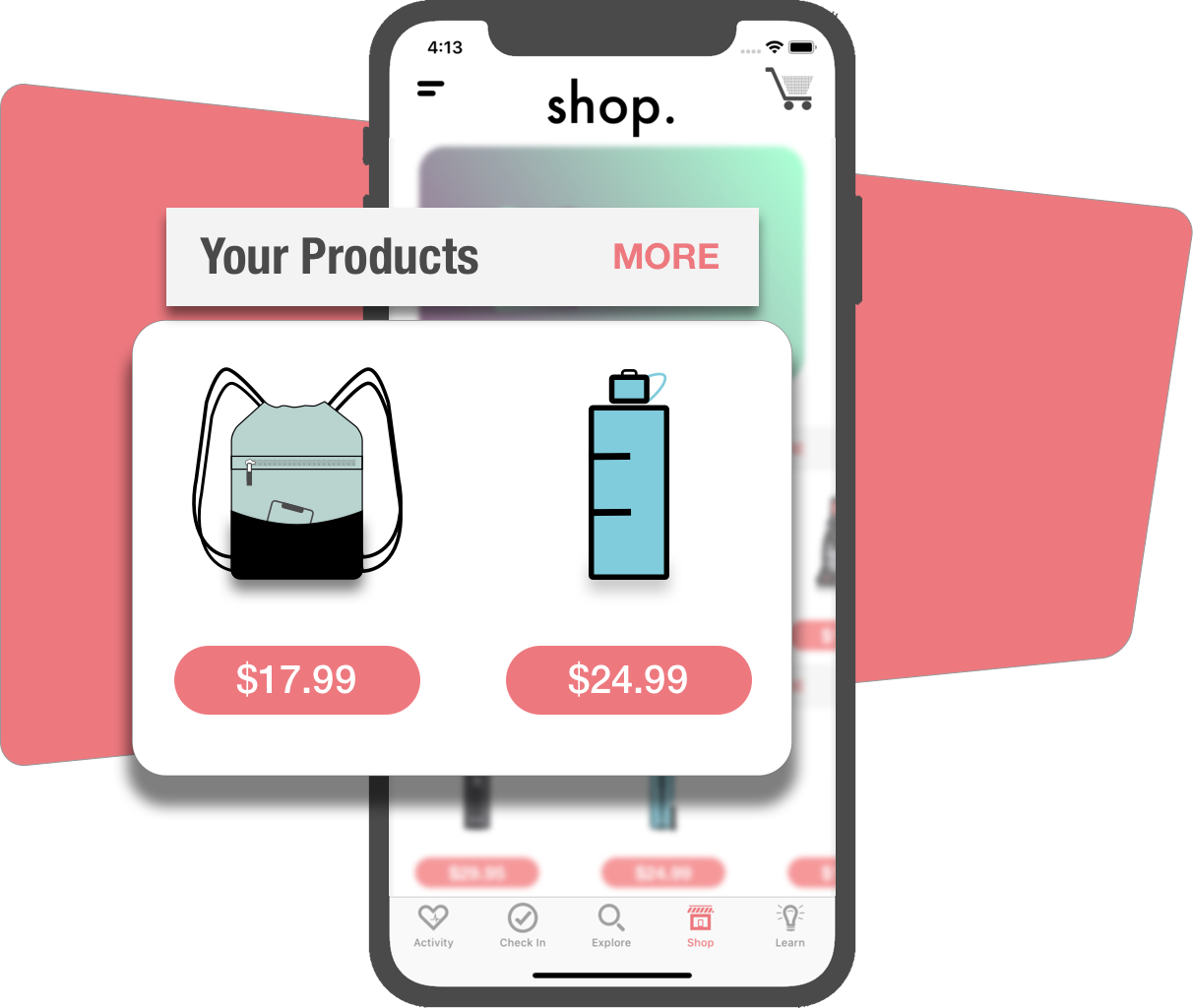 NOT YOUR AVERAGE MARKETPLACE - GymB is about motivating users to hit the gym by rewarding them for doing so. The credit earned is redeemed through the online store in the app. Sellers like you can offer products that allow credit to be used towards the initial purchase.