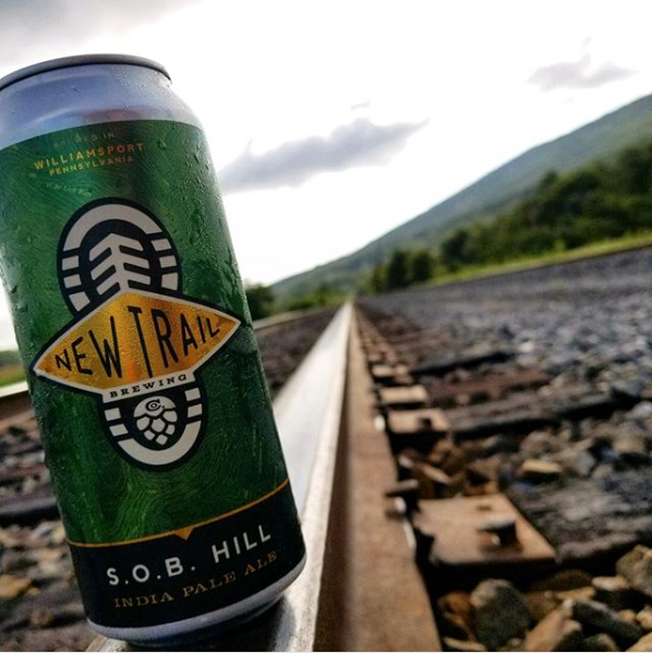 S.O.B. Hill IPA — named after the unforgiving last climb of the Hyner Trail Challenge!