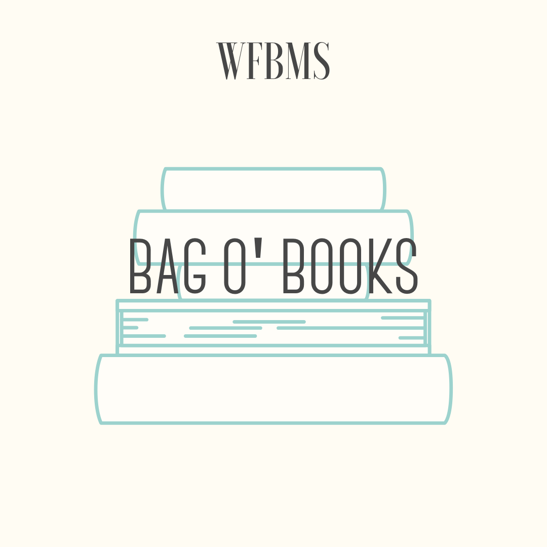 Bag o' Books - The library is donating a very cool reading book bag filled with a variety of young adult titles and a gift card for a local coffee shop.Books are intended for Middle to High School students.