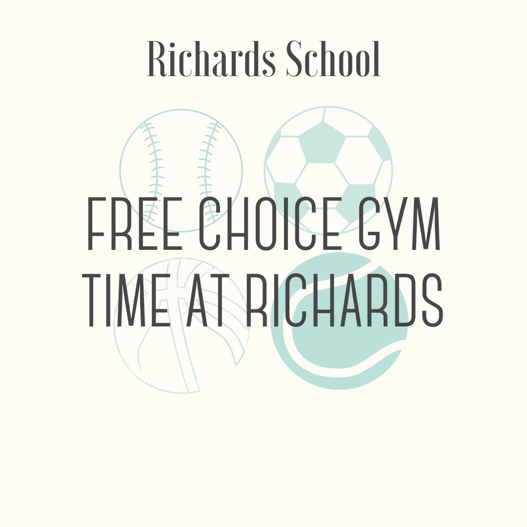 Freechoice Gym Time at Richards - Ms. Lahmann & Ms. Swanson will provide two 1 hour of free choice gym time after school one afternoon, except Fridays. One elementary student and 5 of his/her friends will have the opportunity to pick from a large list of activities to participate in. Examples of available choices: bouldering wall, basketball, scooters, roller racer, indoor kickball, volleyball, etc.The dates will be during the week and after school when the gym is available, except Friday. Available times typically would be a 1-hour time frame between 3:15-5:00 in the afternoon. Must be redeemed prior to the end of the 2018-2019 school year.