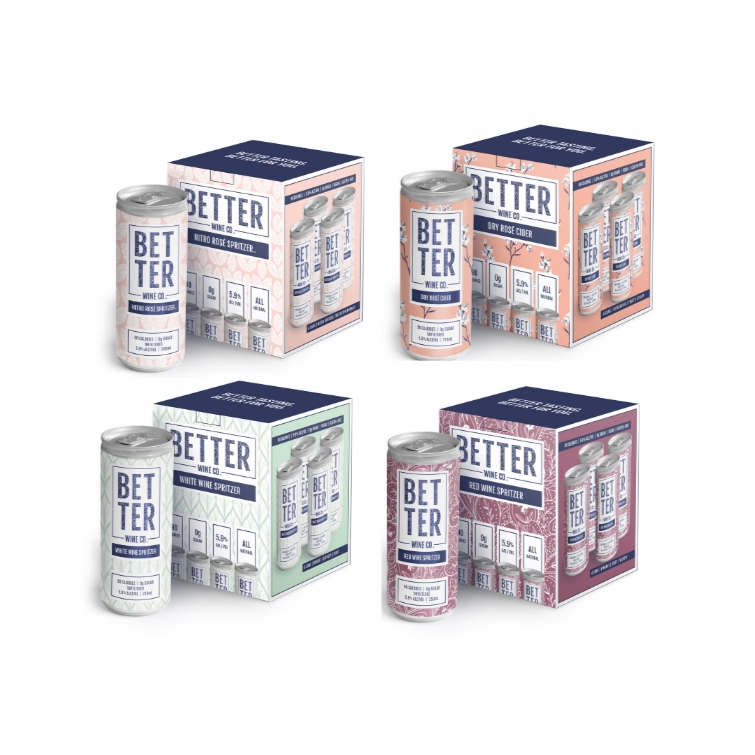 Mix and Match - 4 Boxes (16 cans)   59.00