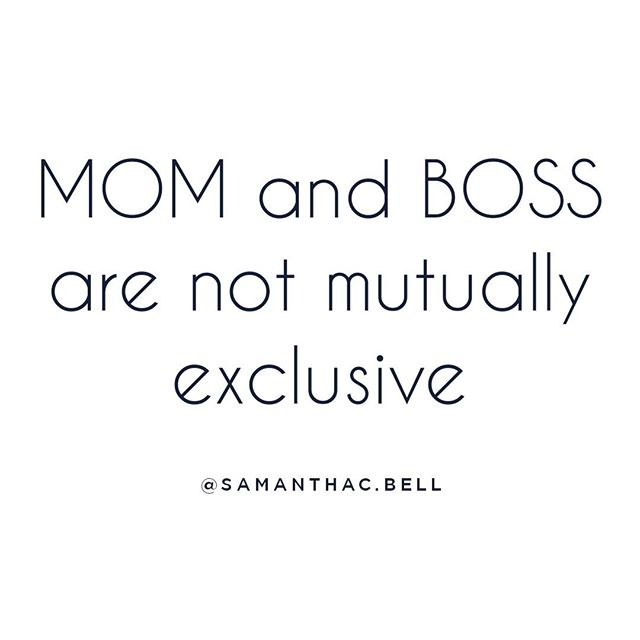 YOU CAN BE A MOM AND A BOSS!   Did you know that mothers are often overlooked  for promotions or high-level positionsd because employers doubt their commitment and flexibility?🤔   Sure, working moms have a lot on their plate but so does everyone else in this crazy world!   QUESTION- have you ever been passed over for a promotion by someone without kids? What did you do about it?👇 Leave me a comment!       #workingmom #careergoals  #fempreneu r#workingmommy #workingmomlife #entrepreneurmom #entrepreneurwoman #mombosslife #shemeansbusiness #businessmom #workingmomlife #matleave #startwhereyouare #ladybosslifestyle #momswhowork #bossmoms #careermom #momatwork #matleavelife #thebossbabesociete #girlsinbusiness #staybossyladies #busymommy #workingmomstyle #workingmomprobs