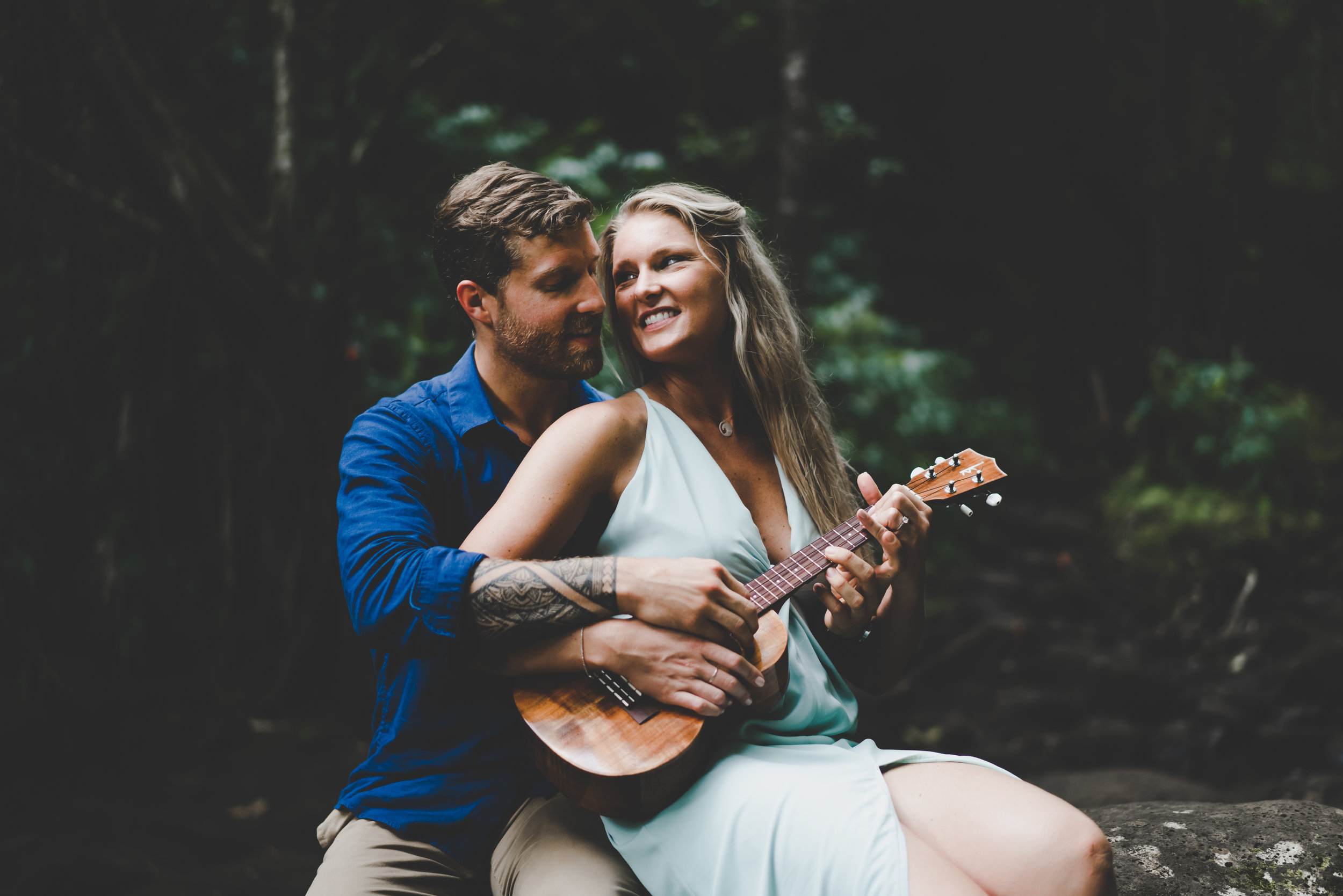 Brittany + Pete's Magical Forest Engagement