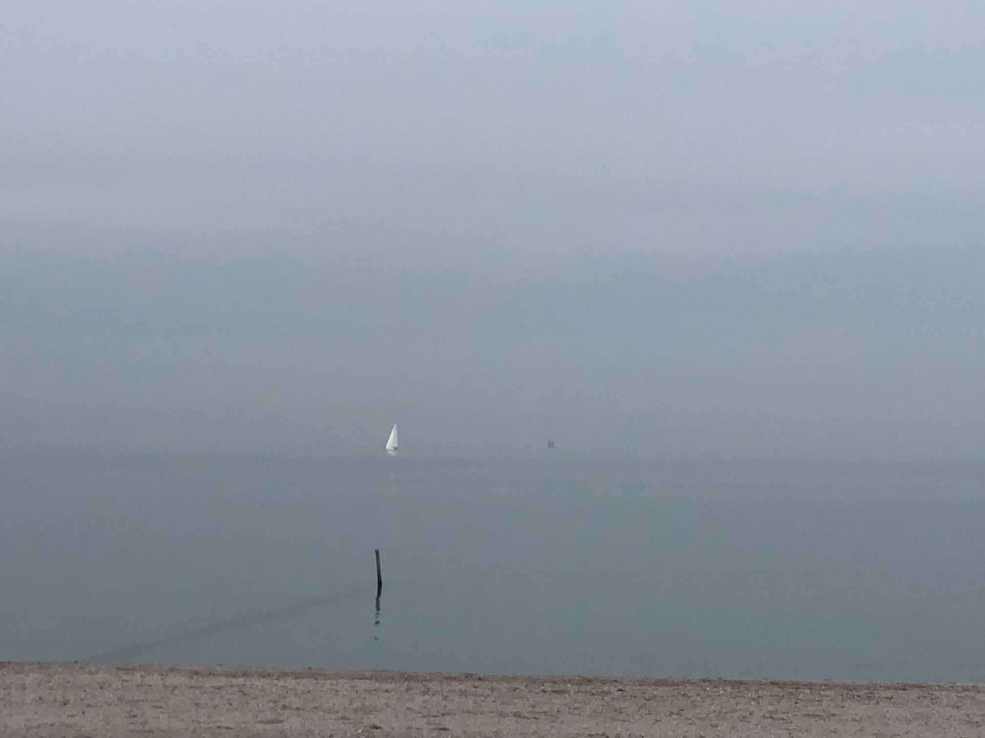 Boat Off in the Distance; Corpus Christi