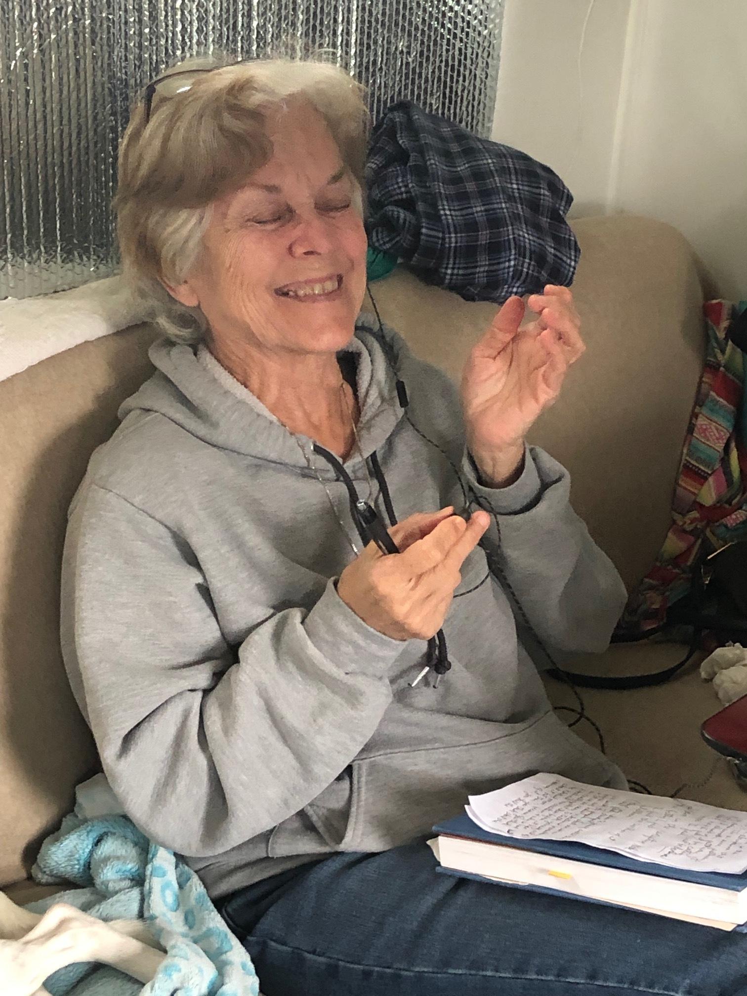 Mom Cracking Up After Teasing Monse