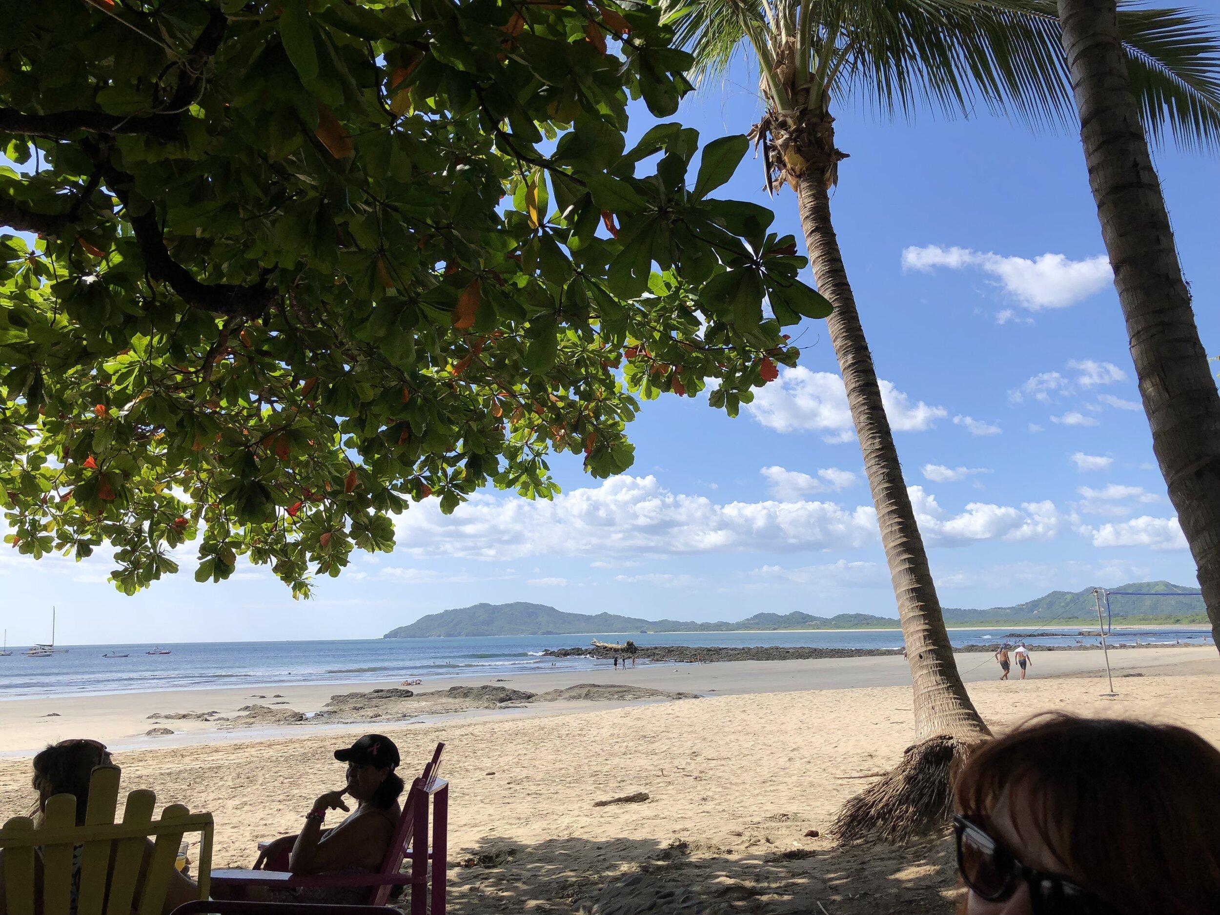 Beach in nearby Tamarindo