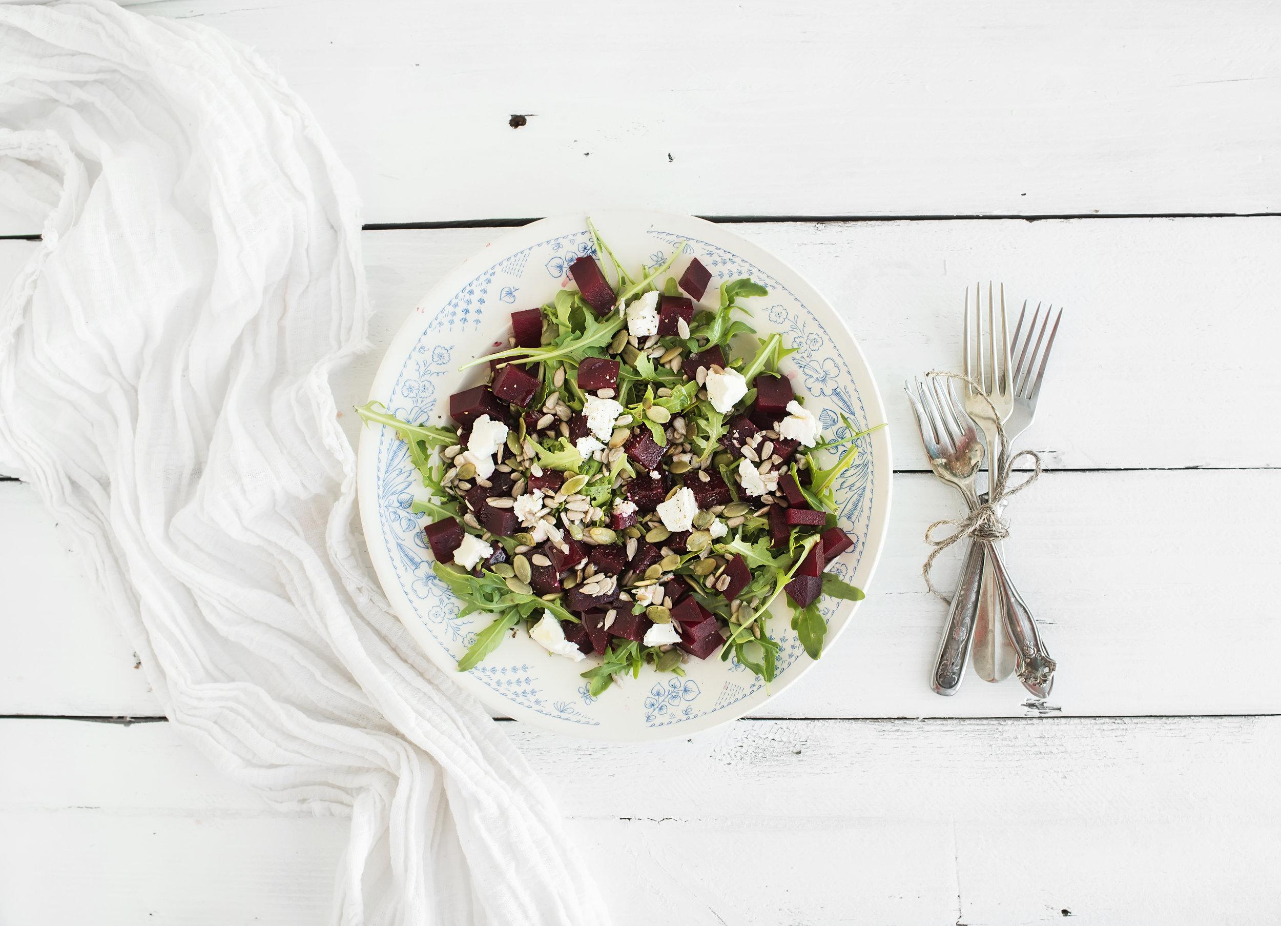 It's simple.Great ingredients make great food. -