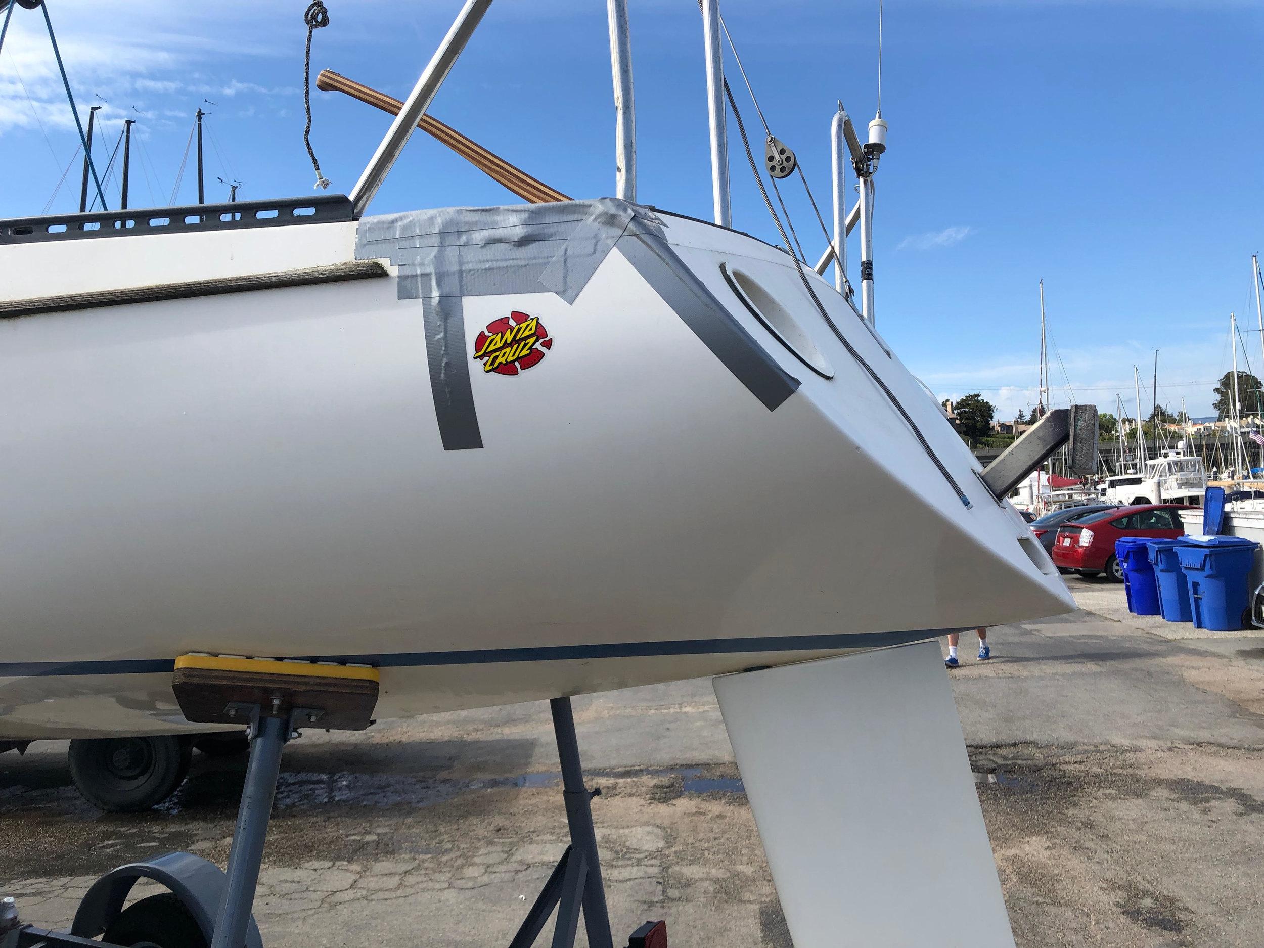 It wouldn't be Santa Cruz without injured boats.