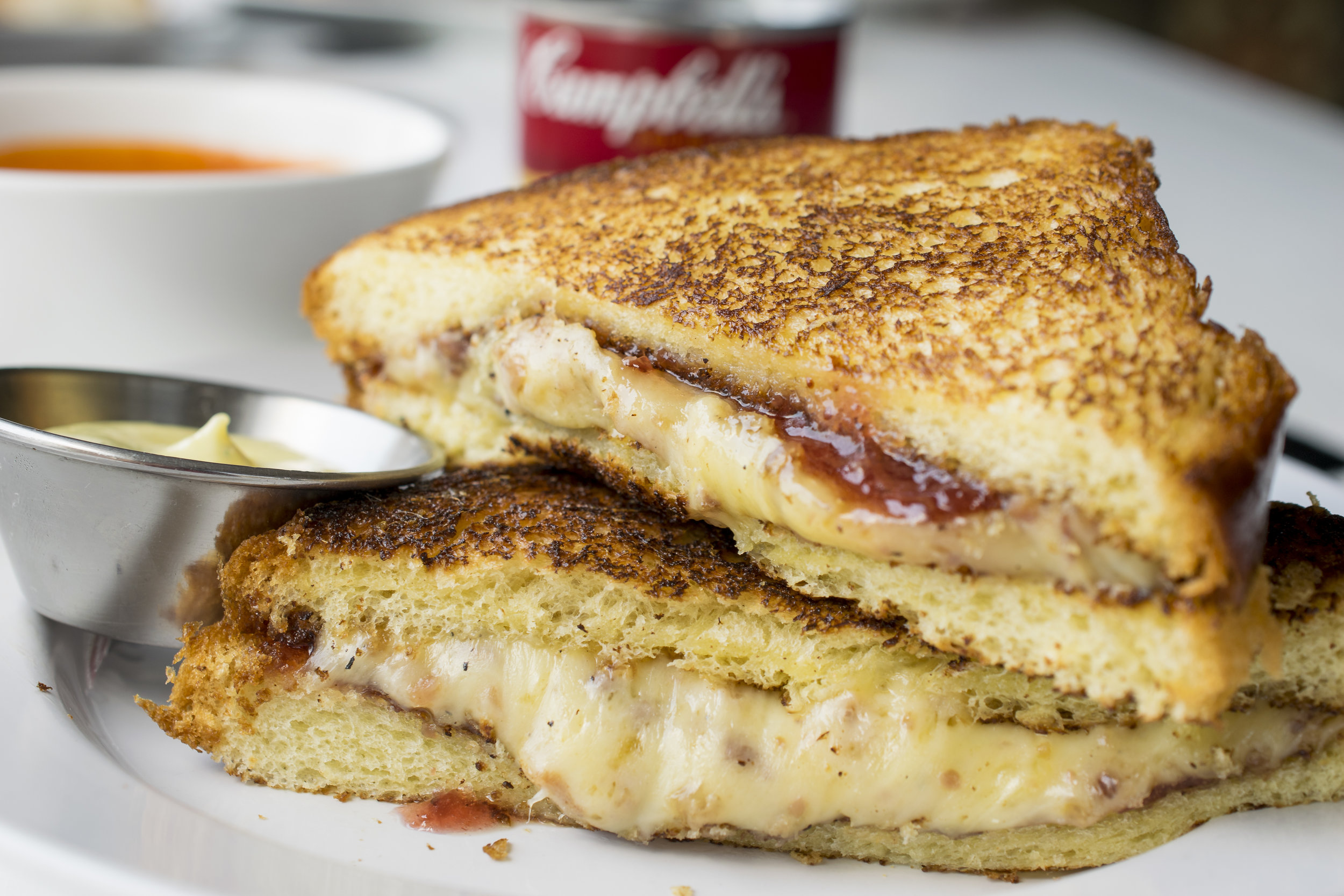 Grilled Cheese with Jam