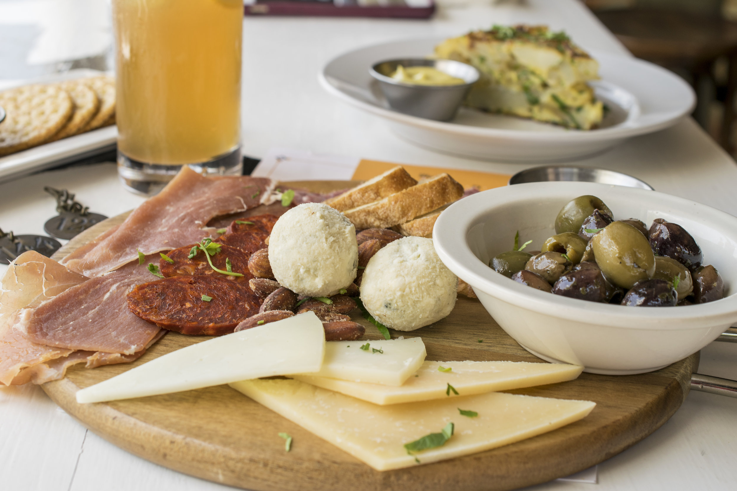 Charcuterie and Mixed Cheese Board