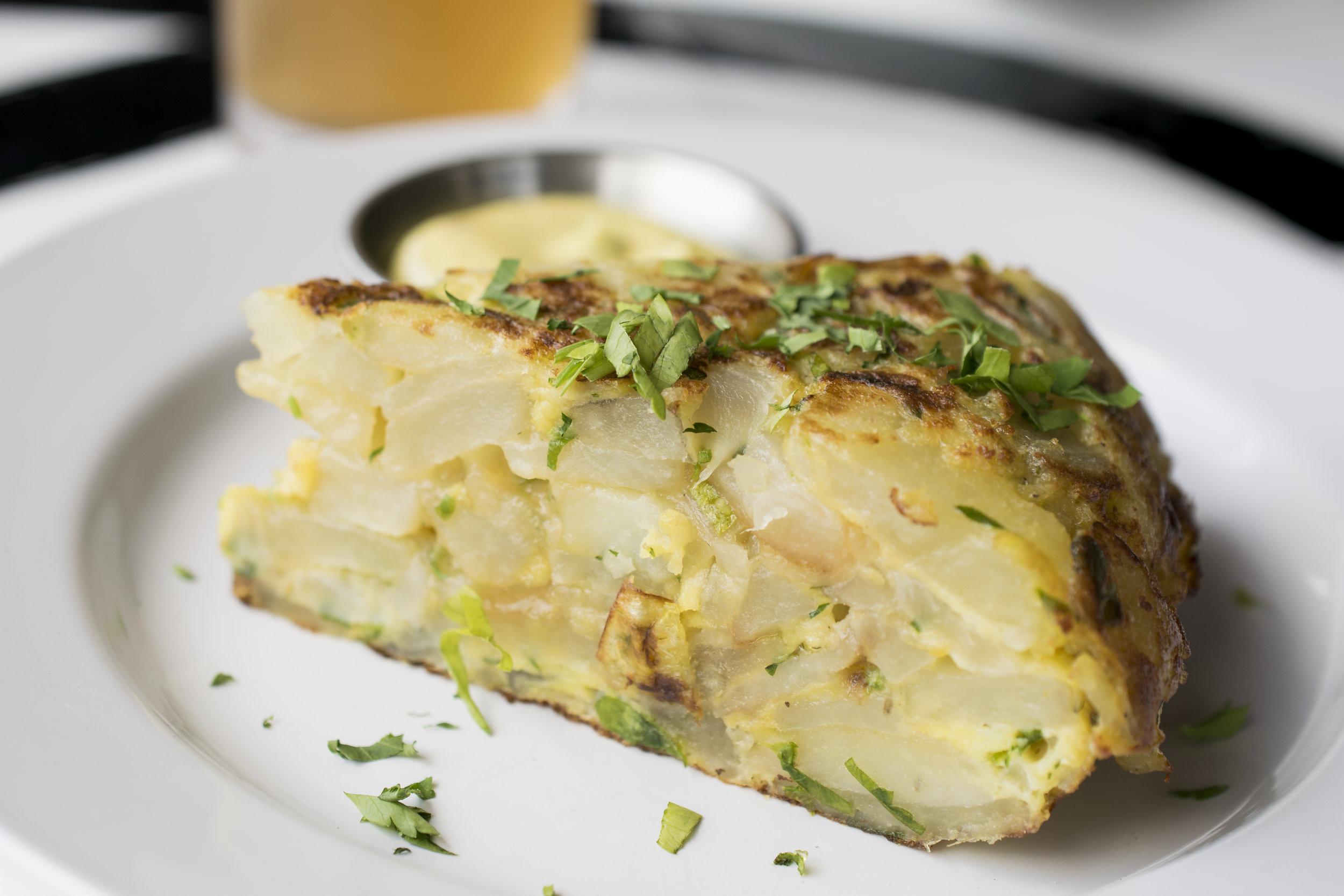 Spanish Potato and Egg Omelette