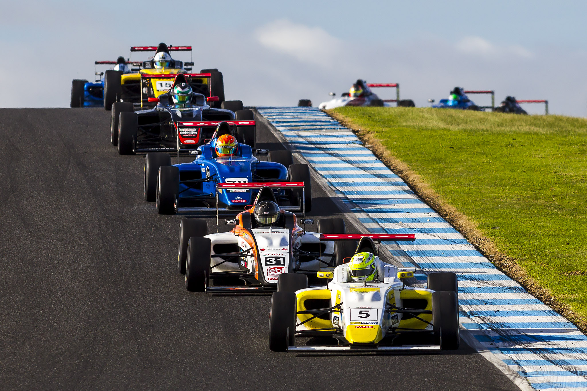 Everything up for grabs in Formula 4 double-round - Australian Formula 4