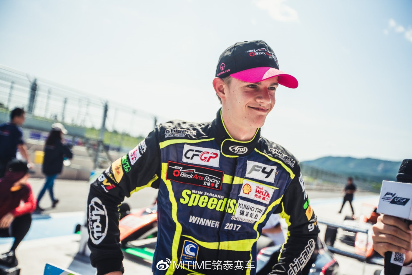 Can Conrad Clark take the championship in Shanghai? - CHINESE FORMULA 4