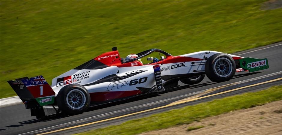 Image: Toyota GAZOO Racing New Zealand/John Cowpland