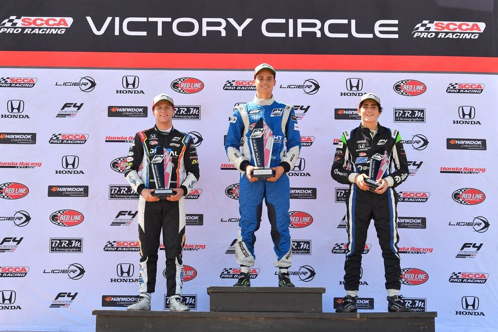 Joshua Car on a championship charge - F4 UNITED STATES CHAMPIONSHIP