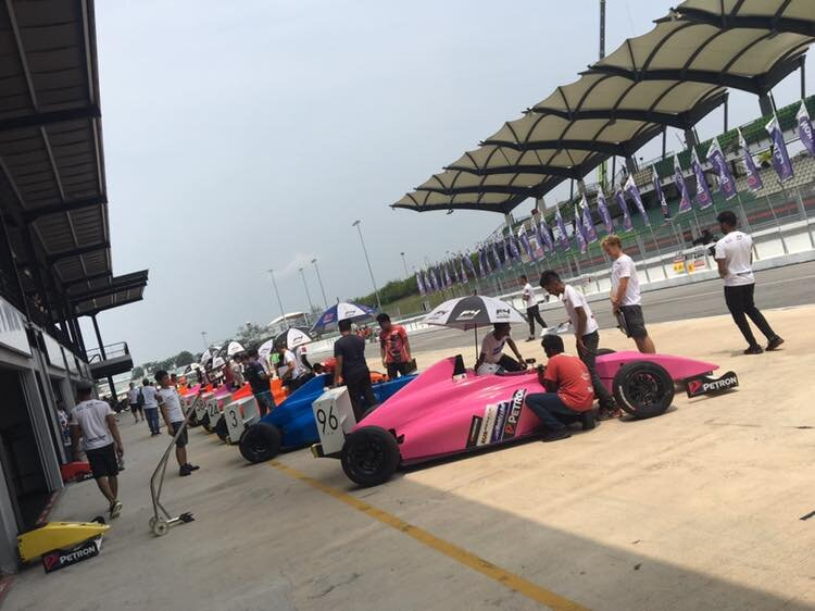 Josh Smith in the hunt at Sepang - FORMULA 4 SOUTH EAST ASIA