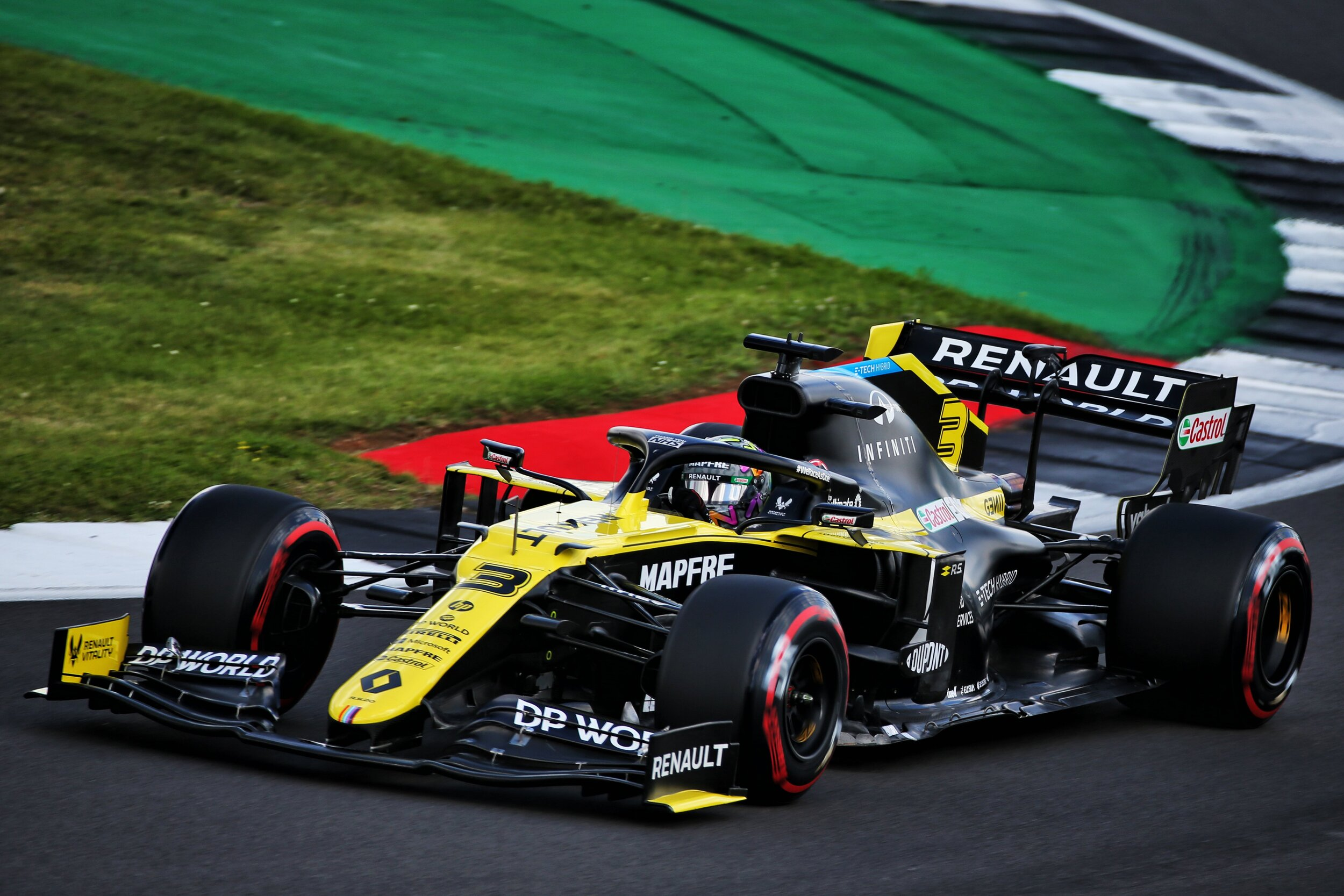 Daniel Ricciardo Happy With Eighth Place To Start British Grand Prix Highway F1