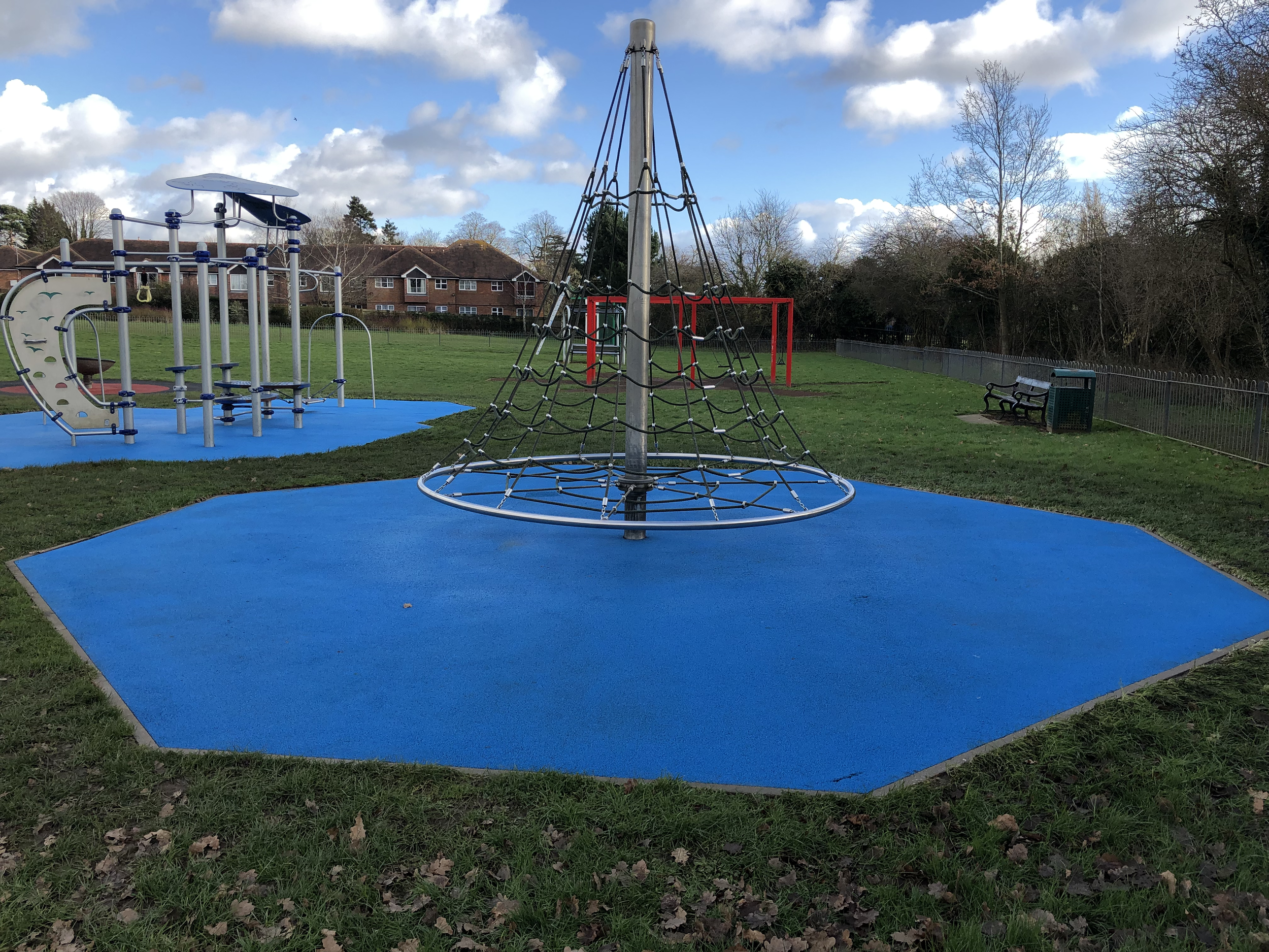 Playground after cleaning