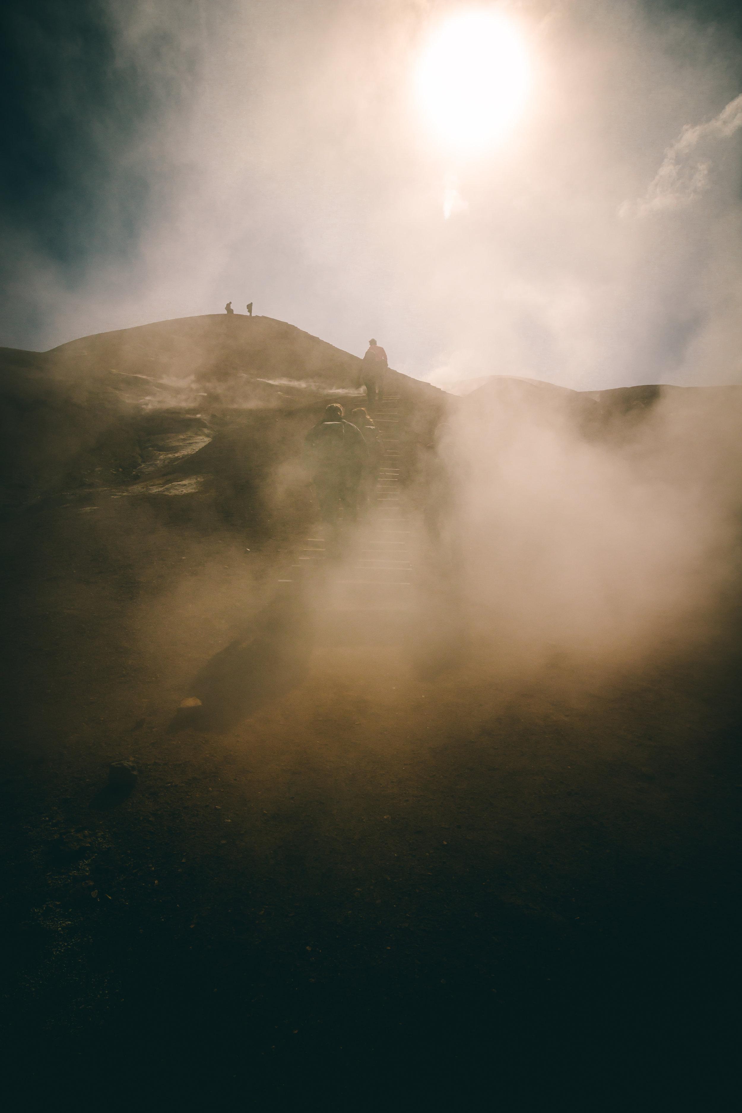 Hiking Hverdalir