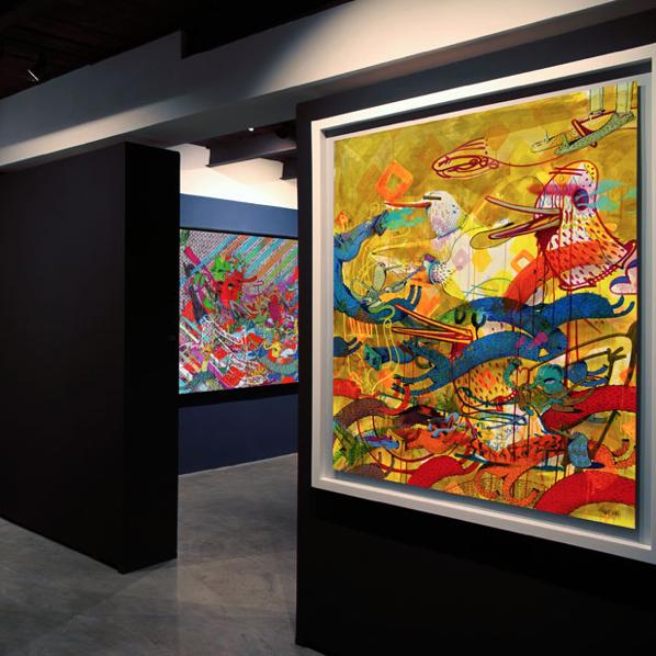 © Alëxone One / Exposition MoMent Donné - David Bloch Gallery