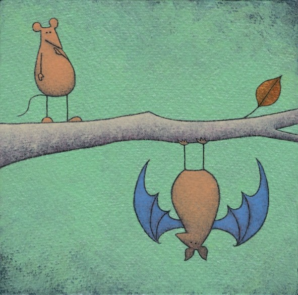 Mutual Incomprehension of Mouse and Bat