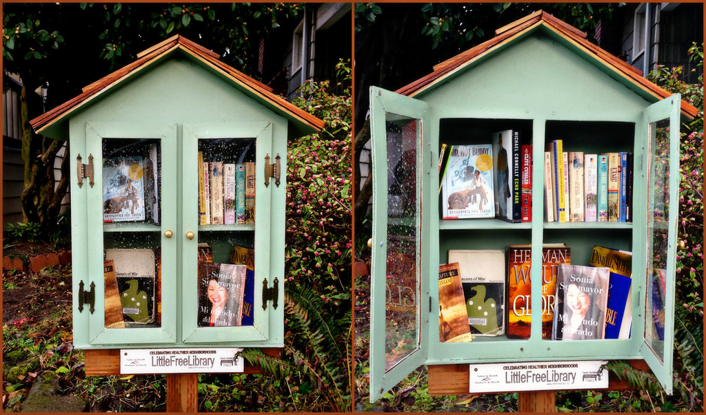 LITTLE FREE LIBRARY - WORKSHOP