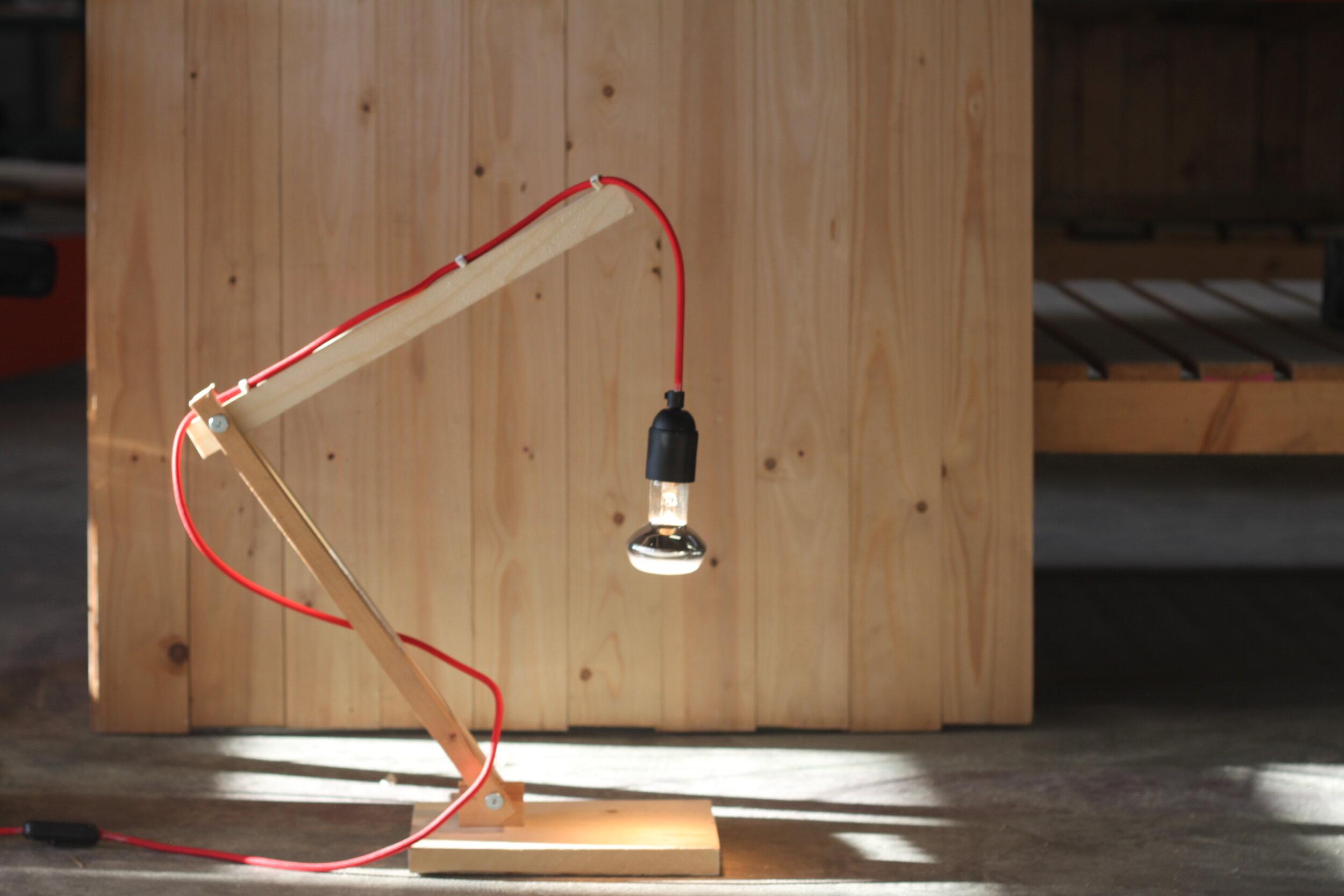 MAAK EEN LAMP - Workshop